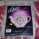 BETTS TEAPOT CLOCK, VERY CUTE