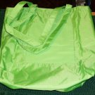 GREEN SHOPPING BAG, WORKS GREAT FOR A GROCERY BAG