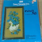 SWEET SWAN PICTURE FROM SEW SIMPLE-NEW-VINTAGE-SEE