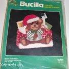 NIP BUCILLA BEARY CHRISTMAS MAILHOLDER/DOORSTOP