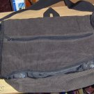 BROWN CORDUROUY BOOK BAG - GREAT TO ORGANIZE