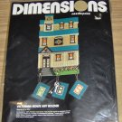 DIMENSIONS VICTORIAN HOUSE KEY HOLDER - NEW IN PACKAGE