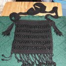 BEADED BLACK PURSE FROM CHATEAU - ANYTIME USE