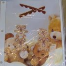 TEDDY BEAR MOBILE KIT - NEW - VERY CUTE