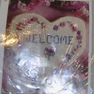 PRETTY WELCOME SIGN-HEART SHAPED-KIT-NEW- LOOK