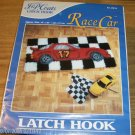 J & P COATS RACE CAR RUG KIT-NIB-FUN TO MAKE GIFT/SELF