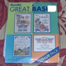 PACKAGE OF 4 SAMPLERS - MAKE 4 GRT GIFTS IN ONE