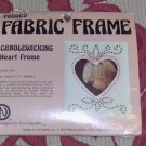 CANDLEWICKING HEART FRAME, NEW IN PACKAGE, VINTAGE