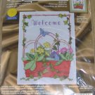 PRIMROSE WELCOME CROSS STITCH KIT FROM JANLYLNN - NICE