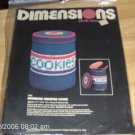 DIMENSIONS RAINBOW CANNISTER COVER, NIP