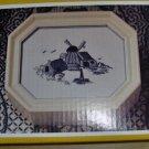 PRETTY BOX N POINT BLUE DELFT WINDMILL KIT