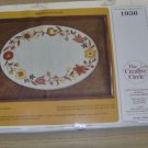 NIB AUTMUN FLORAL SERVING TRAY