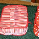 3 In 1 Pretty Hearts Bags, New, Use as 1 or Use as 3