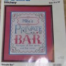 PRIVATE BAR SIGN PERSONALIZE, CUTE, GREAT DEN PICTURE