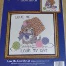 LOVE ME LOVE MY CAT -CANDAMAR DESIGNS SWEET KITTY PIC