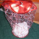 Red & Pink Hearts For You, Nice Cosmetic or Storage Bag