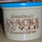 Grandmas Crock - Snacks for VIP Grandchildren - Cute
