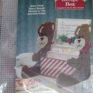 BEAR RECIPE BOX, CHRISTMAS TRIMMINGS, BEARY SPECIAL