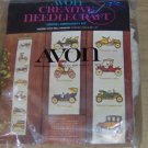 OLD CARS - NEAT WALL HANGING FROM AVON - VINTAGE
