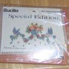 BUCILLA SPEC EDIT, BIRDS & BOUQUET DRESSER SCARF, NIP