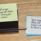 WOOD SCRIPTURE NOTE HOLDER