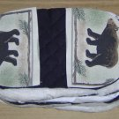 BEAR WITH PINE BOUGHS GRABBITZ - GREAT COOK OUT ITEM