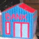 PRETTY LITTLE BANK SHAPED COIN BANK