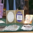 LARGE LOT OF SMALL FRAMES,HEART,SILVER,GOLD,KEYCHAIN