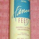 Avon Fancy Feet Double Action Deodorizer Powder