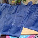 3 PAIR LADIES SLACKS FROM IMPROVED LIVING-BLUE COLOR