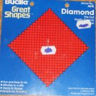 Bucilla Great Shapes  Diamond Pre-Cut  Pl Canvas Shape