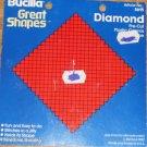 Bucilla Great Shapes  Diamond Pre-Cut  Pl Canvas Shape