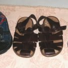 5 Pr Boys Shoes,Tennis,Sandals,Water Moccasin,Spiderman