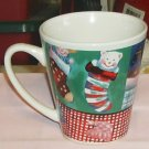 Christmas Patchwork Mug,Mittens, Jack-in-the-Box,Stars
