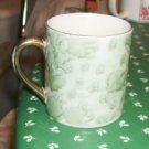 Green Print Cup, Very Pretty Design