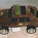 Novelty Sheriffs Car Pillow, Fun For Play Cute Decor