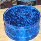 Holiday Container, Blue Drum, Great For Gifts,Treats