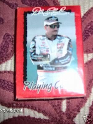 Dale Earnhardt Playing Cards,Stocking Stuffer for Fan