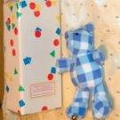 Plaid Bear Hook,Great Nursery Item or Childs Room