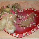You Have My Heart Bear Decoration, Perfect for Valentin