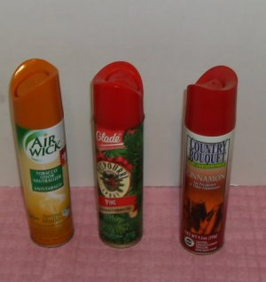 Air Fresheners, Wizard, Tobacco, Pet, Food Odors, Nice Scents