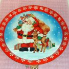 Santa,Reindeer,Snowflake & Bag of Toys Christmas Tray