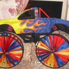 Colorful Truck Wall Decor,Great In Den or Boys Room