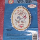 Colortex Country Love Geese, Cute Partial Kit Mini-Oval