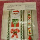 Holiday Ideas Bell Pull Medley-Crosstitch,Festive,Cute