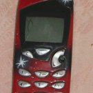 Nokia Cell Phone,Model 5165,w/ Battery Pack,Red Cover
