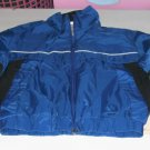 J C Penney Toddlers Jacket, Lined,Size 7,White Piping