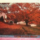 1000 Piece Fully Interlocking Puzzle, Complete,Falling Leaves,From Guild,Open