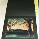 "Nice Print of Mount Fuji, Japan From 1949, Black Photo Folder, 8"" x 10"", Pretty"