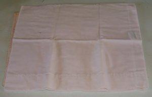 Pink Pillow Case, Cannon Fieldcrest, Standard Size, Cotton/Polyester, Light Pink